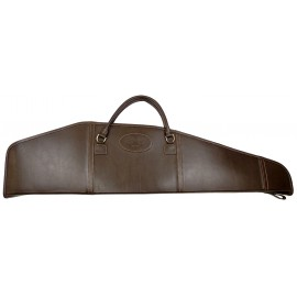 Чехол кожаный для оружия с оптикой 110 см