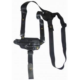 Кобура оперативная Stalker 906 кожаная формованная с комбинированным креплением