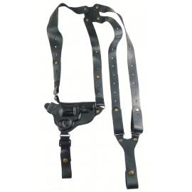 Кобура оперативная Экол-3 кожаная формованная с кожаным креплением