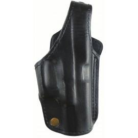 Кобура поясная Glock 19 кожаная формованная