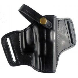 Кобура поясная Glock 26 кожаная