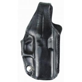 Кобура поясная Glock 43 кожаная формованная трехслойная