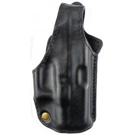 Кобура поясная Glock 26 кожаная формованная трехслойная