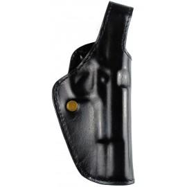 Кобура поясная Colt 1911 кожаная формованная трехслойная