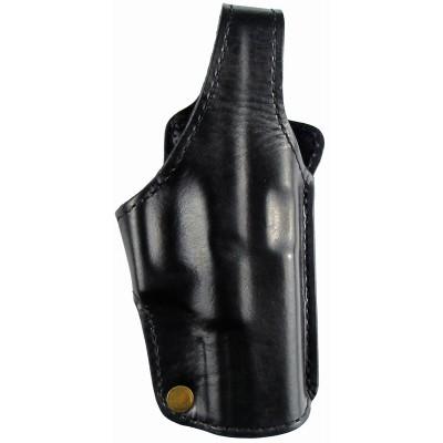 Кобура поясная Glock 17 кожаная формованная трехслойная