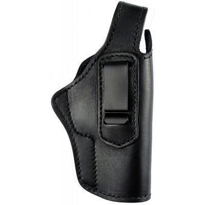 Кобура поясная Walther P88 кожаная со скобой универсальная