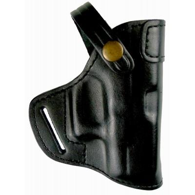 Кобура поясная Glock 26 кожаная формованная