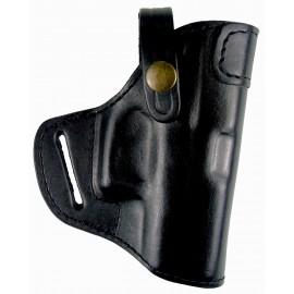 Кобура поясная Glock 43 кожаная формованная