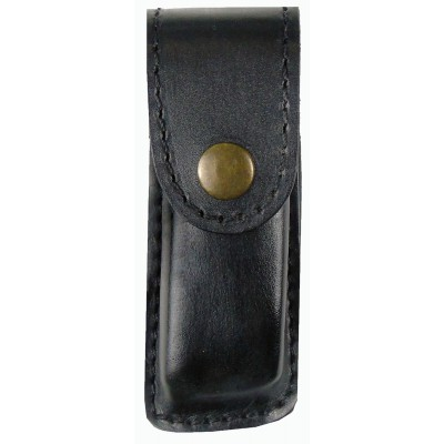 Чехол кожаный  формованный под магазин Glock 26, поясной