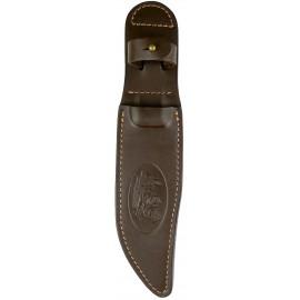 Чохол для ножа шкіряний №10 (Вовк)