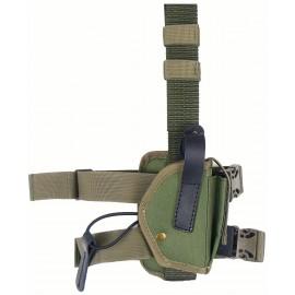 Кобура Glock 17 синтетическая набедренная трехслойная