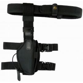 Кобура Glock 17 синтетическая набедренная трехслойная на ремне